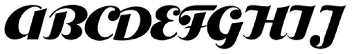 Bolero Font UPPERCASE