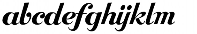 Bolero Font LOWERCASE