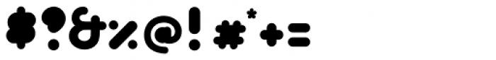 Bolha Filled Font OTHER CHARS