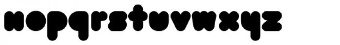 Bolha Filled Font UPPERCASE