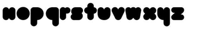Bolha Filled Font LOWERCASE