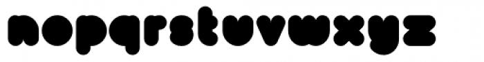 Bollard Font UPPERCASE