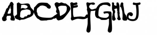 Boller Drop Caps Font UPPERCASE