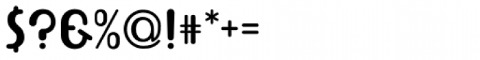 Bolobold Font OTHER CHARS