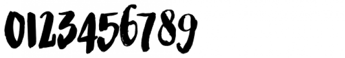Bolonqui Brush Font OTHER CHARS