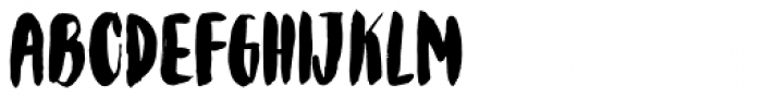 Bolonqui Brush Font UPPERCASE
