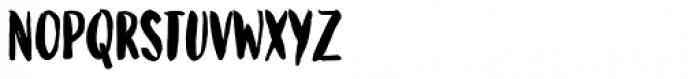 Bolonqui Brush Font LOWERCASE