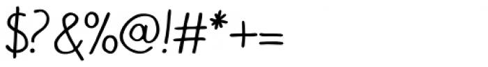 Bolonqui Script Font OTHER CHARS