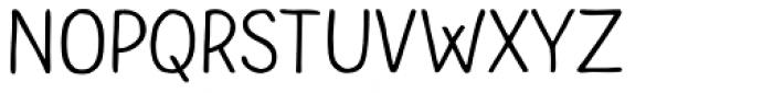 Bolonqui Script Font UPPERCASE
