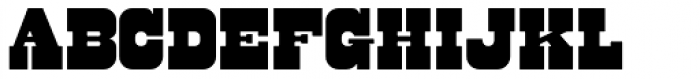 Bolster Font UPPERCASE