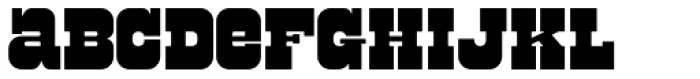 Bolster Font LOWERCASE