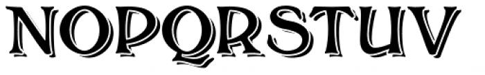 Bolton Commercial Blocked Font UPPERCASE