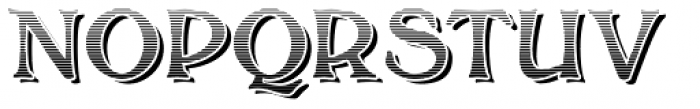 Bolton Commercial Engraved Font UPPERCASE