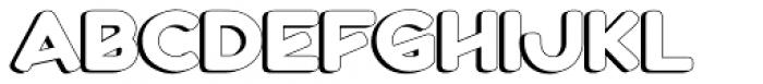 Boltz 3D Font UPPERCASE