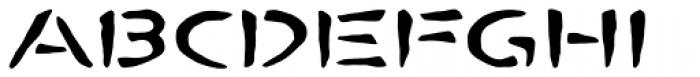 Bombora Pro Font UPPERCASE
