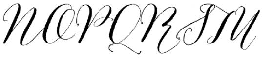 Bombshell Pro Font UPPERCASE