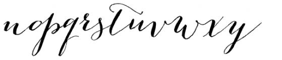 Bombshell Pro Font LOWERCASE