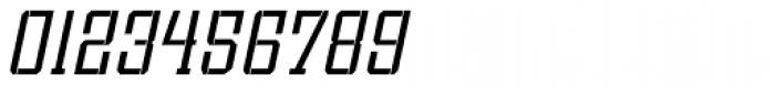 Bomburst ExtraCond Light Oblique Font OTHER CHARS