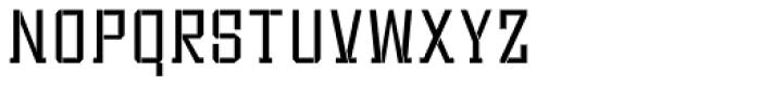 Bomburst ExtraCond Light Font LOWERCASE