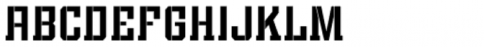 Bomburst ExtraCond Regular Font LOWERCASE