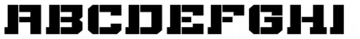 Bomburst ExtraWide Black Font UPPERCASE
