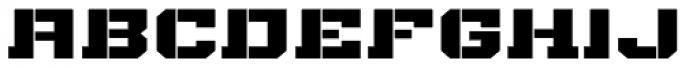 Bomburst ExtraWide Black Font LOWERCASE