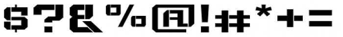 Bomburst ExtraWide Bold Font OTHER CHARS