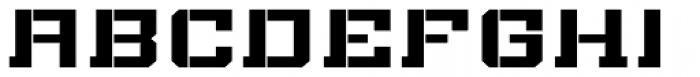 Bomburst ExtraWide Bold Font UPPERCASE