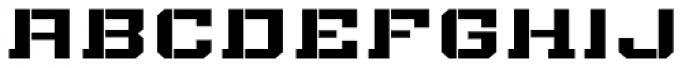 Bomburst ExtraWide Bold Font LOWERCASE