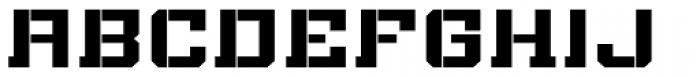 Bomburst Wide Bold Font UPPERCASE