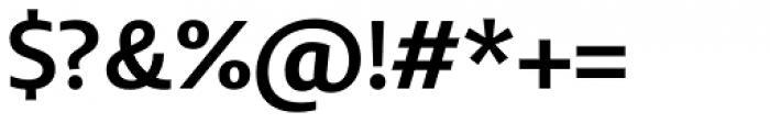 Bommer Sans SemiBold Font OTHER CHARS