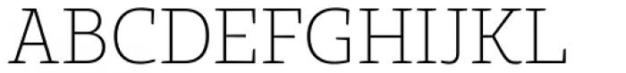 Bommer Slab Rounded Thin Font UPPERCASE