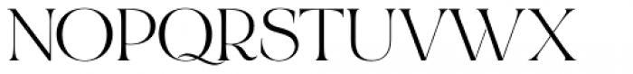 Bon Vivant Family Serif Regular Font UPPERCASE