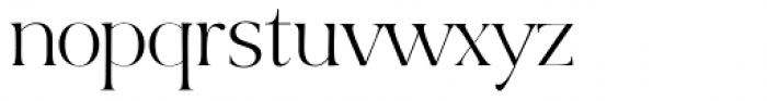 Bon Vivant Family Serif Regular Font LOWERCASE