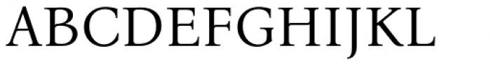 Bona Nova Regular Font UPPERCASE