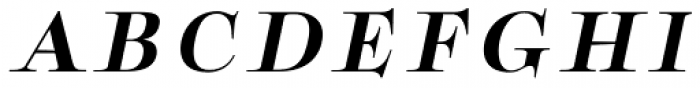 Boncaire Titling Bold Italic Font UPPERCASE