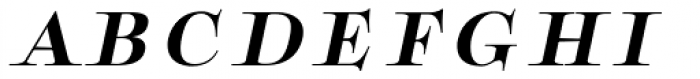 Boncaire Titling Bold Italic Font LOWERCASE