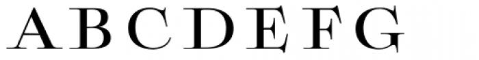 Boncaire Titling Medium Font UPPERCASE