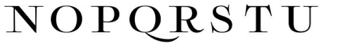 Boncaire Titling Medium Font LOWERCASE