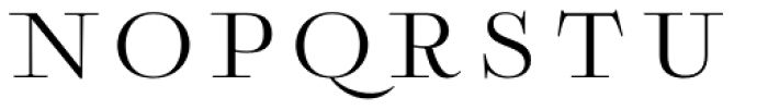Boncaire Titling Regular Font UPPERCASE