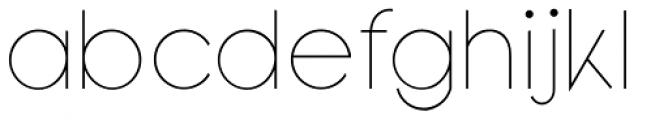 Bondoluo Display Font LOWERCASE