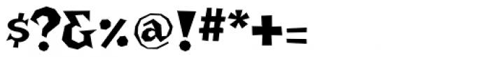 Bonehead Font OTHER CHARS