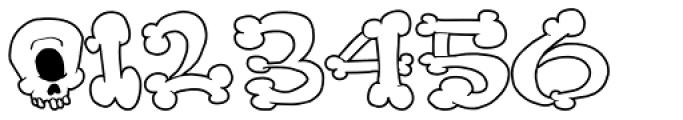 Bonerfied Font OTHER CHARS
