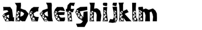 Bongani Font LOWERCASE
