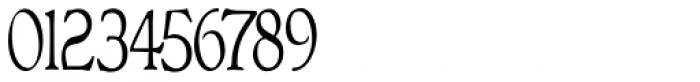 Bonning Narrow Regular Font OTHER CHARS