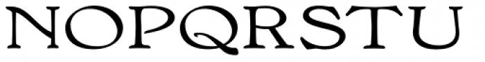Bonning Wide Bold Font UPPERCASE