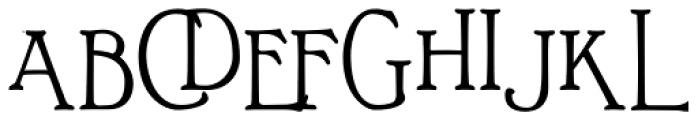 Bonnington Bold Font UPPERCASE