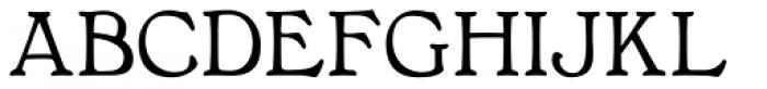 Bonnington Bold Font LOWERCASE