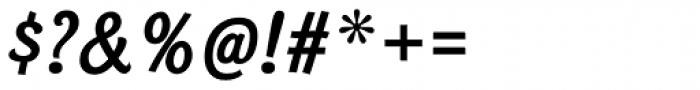 Bonobo Bold Italic Font OTHER CHARS