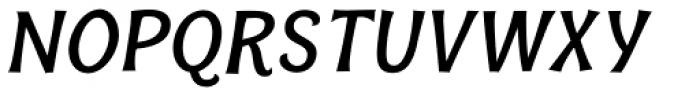Bonobo Bold Italic Font UPPERCASE